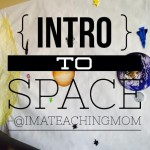 intro to space for preschool and kindergarten