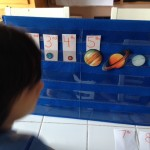 Ordinal numbers with preschool and kindergarten for space