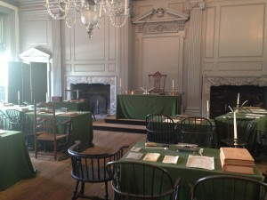 Independence Hall declaration of independence philadelphia